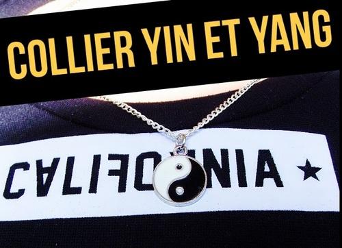 Collier yin et yang