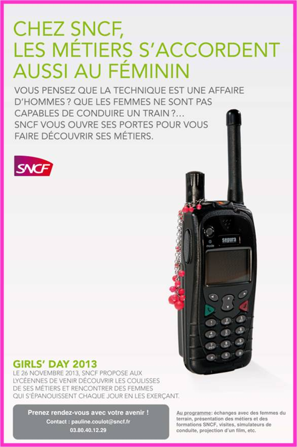 Girl's day SNCF