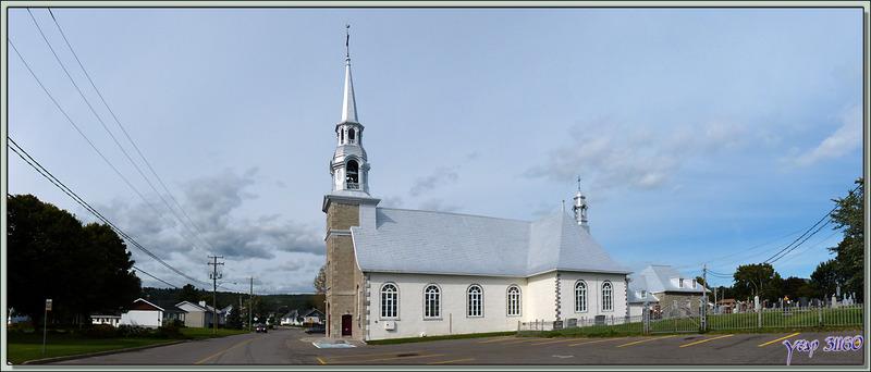 L'église de Saint-Joachim (1779), une des plus anciennes églises conservées du Québec - Canada