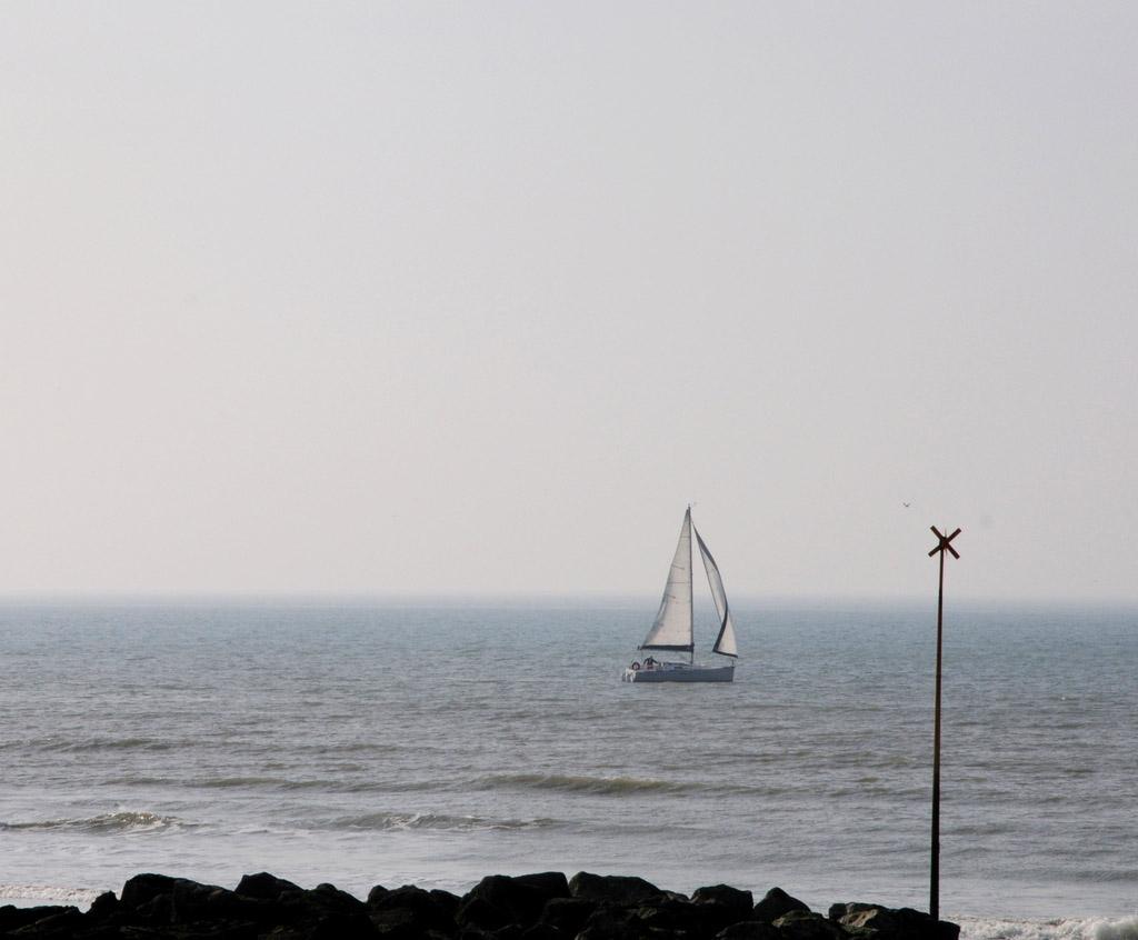 Wimereux ... La mer se retire