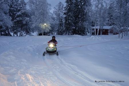 Voyage en Laponie au pays du Père Noël