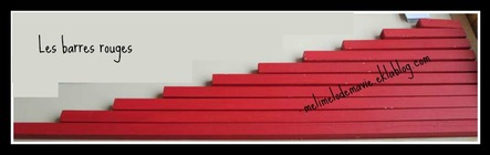 Les barres rouges