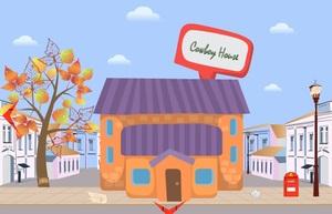 Jouer à Cowboy house escape