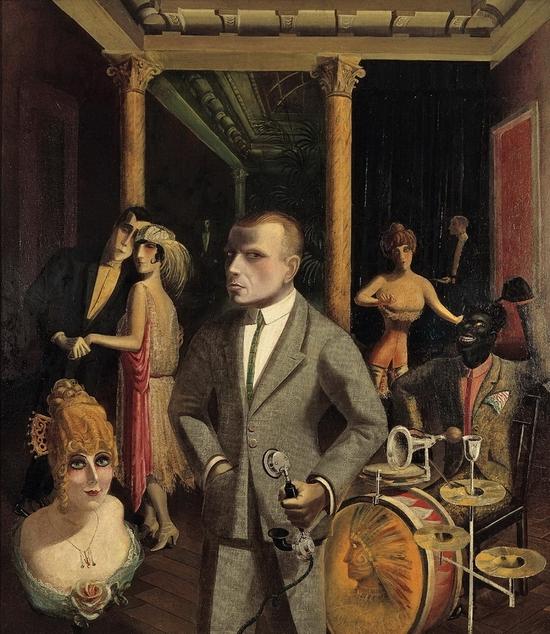 Otto Dix, Autoportrait
