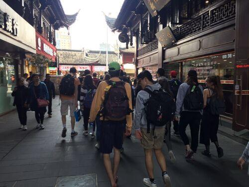 Deuxième jour à Shanghai