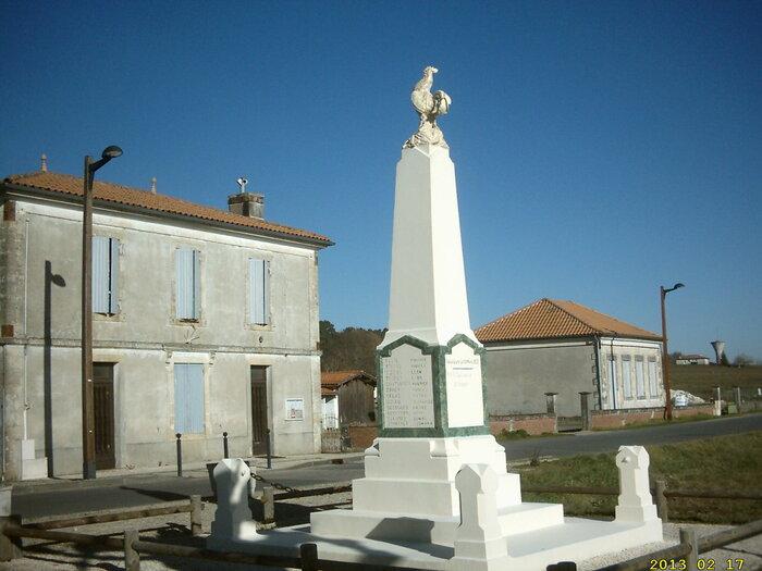 Carte de France des Paysages(Mazères.Gironde)