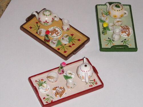 Plateaux et services à thé ou café