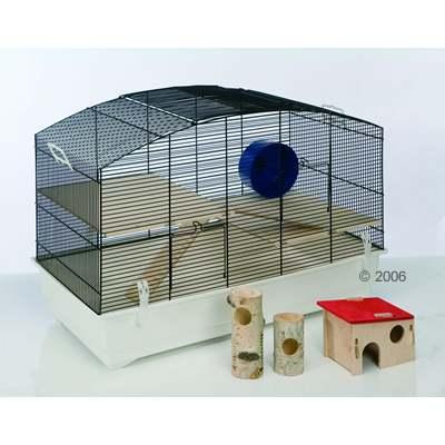 Les types de cages pour un hamster russe le hamster russe - Hamster russe panda ...