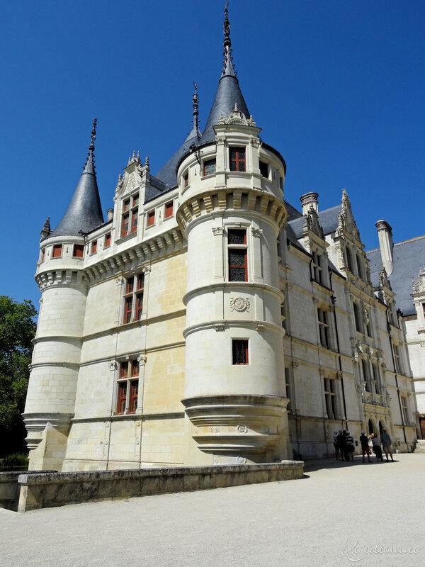 Château d'Azay-le-Rideau - Les façades (8)