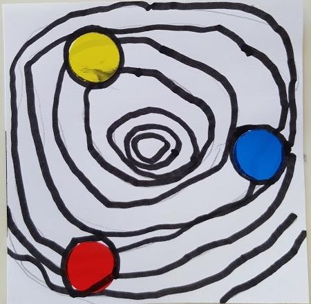 S5: ronds concentriques inspirés de Calder