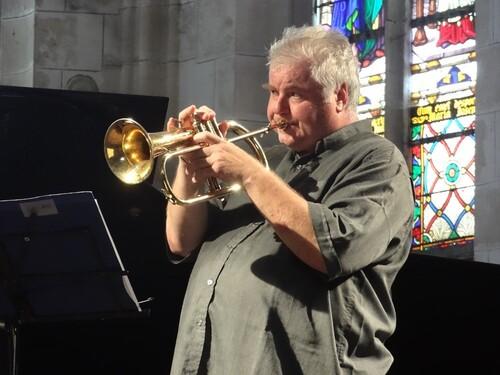 Thierry Caëns et Richard Galliano, en concert à Noyers sur Serein ont enchanté les Amis du Musée...