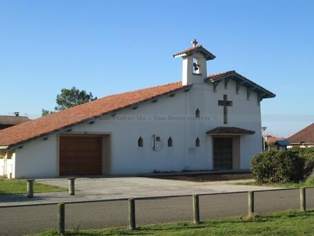 L'église Sainte Madeleine de Contis