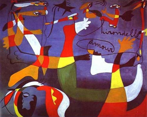 Joan Miro (1895-1983) - La couleur des rêves