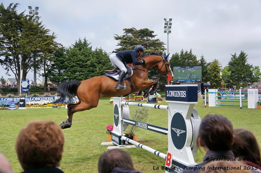 Jumping International LA BAULE - Mai 2015 - DELAVEAU Patrice