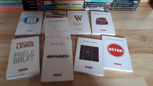 Ma collection de livres : l'Imaginaire chez Gallimard