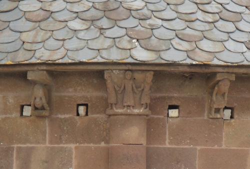 L'église de St saturnin de Lenne