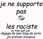 Racisme, tous contre.