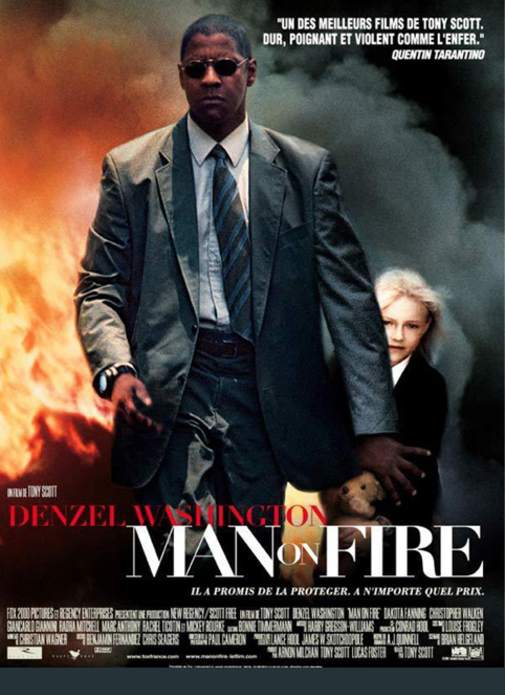 MAN OF FIRE BOX OFFICE FRANCE 2004
