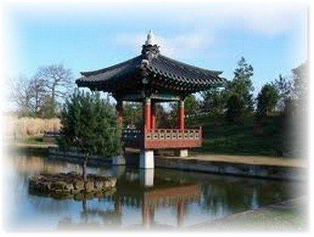 pagode au parc