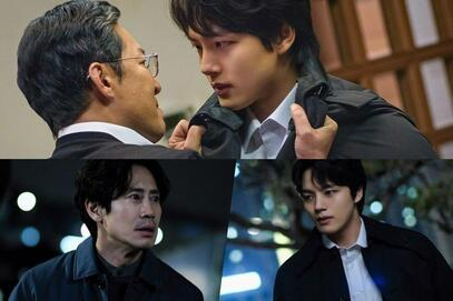 """Yeo Jin Goo And Shin Ha Kyun Team Up To Capture The Monster In """"Beyond Evil"""""""