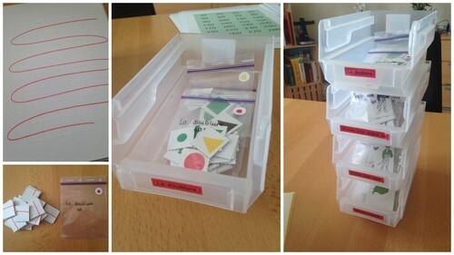 Optimiser et organiser les formes prédécoupées de maths