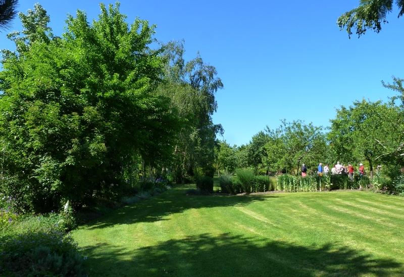 Au jardin  chez Mary et Joël