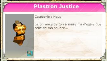 Plastron Justice