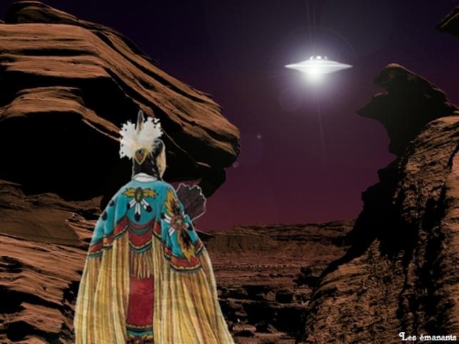 Amérindiens et visiteurs de l'espace
