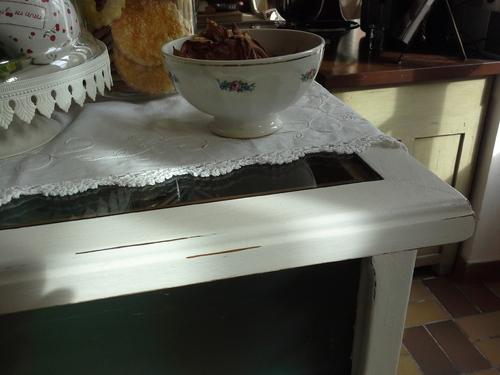 Avant/après : le comptoir de la cuisine
