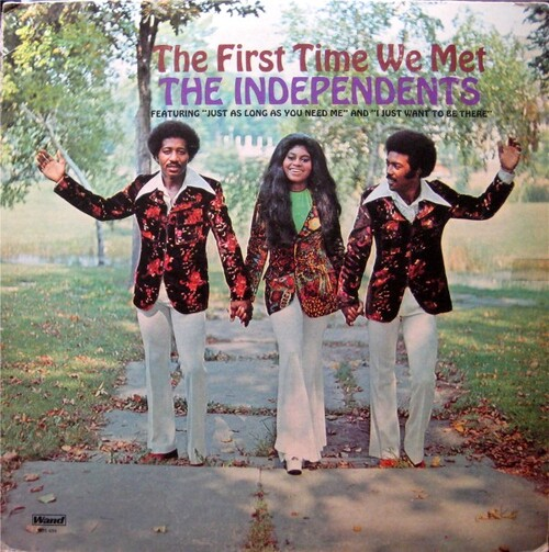 "The Independents : Album "" The First Time We Met "" Wand Records WDS 964 [ US ]"