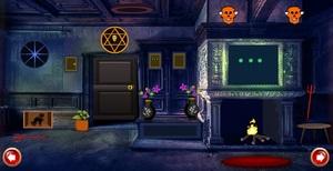 Jouer à Scary witch house escape