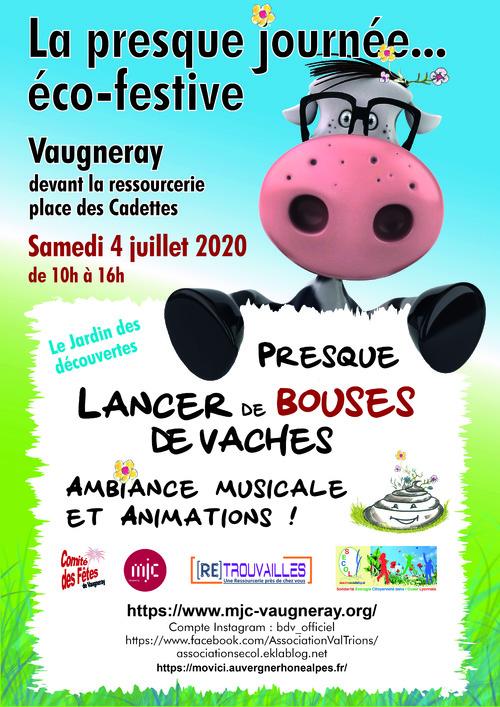 Cette année, venez à la presque journée écofestive le 4 juillet à Vaugneray