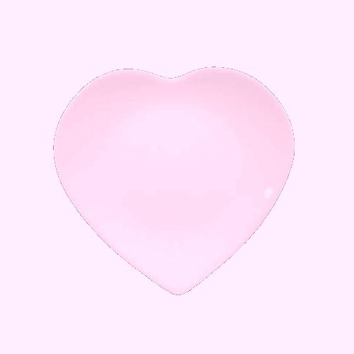 tubes plat coeur et feuille