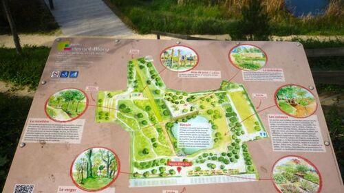 Jardin devant-Blory