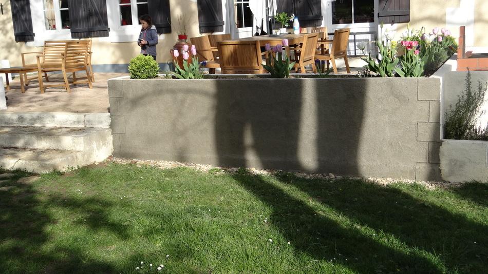 Les Murets de la Terrasse ... Fin ouffff...