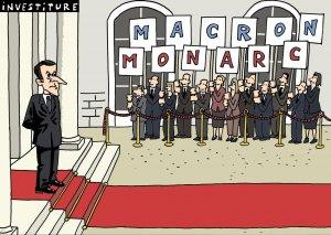 Macron 1er roi de la carabistouille ...