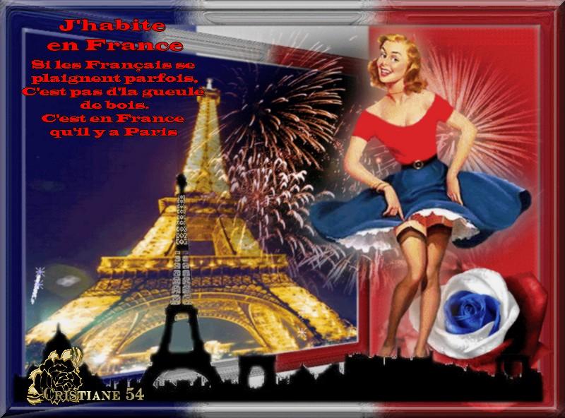 J'habite en France michel Sardou