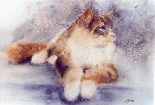 Peinture de : Josette Marrel