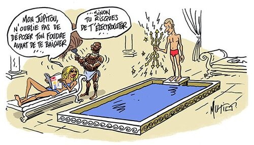 Les tribulations de Macron et ses sbires dans la France marche sur la tête.