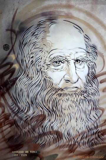 C215 La légende des cieux, Léonard de Vinci