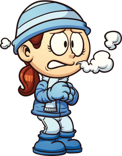 Pourquoi claque-t-on des dents  quand il fait froid.