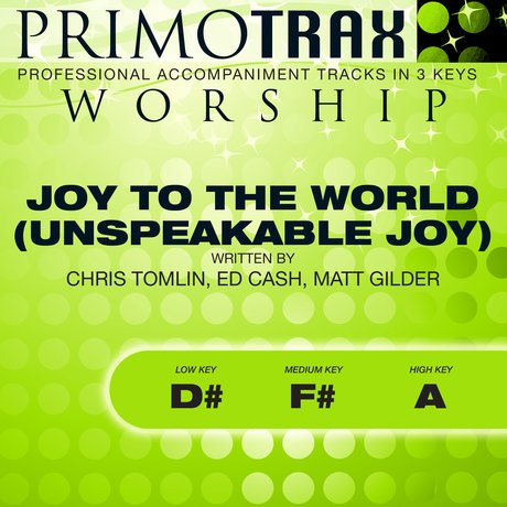 Album cover Joy to the World (Worship Primotrax) - EP