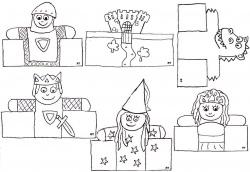 Marionnettes à doigts de papier