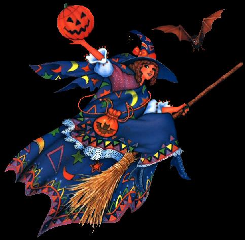 Tubes halloween sorcières