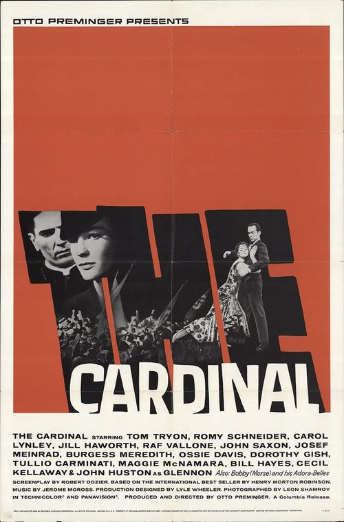 THE CARDINAL BOX OFFICE USA 1963
