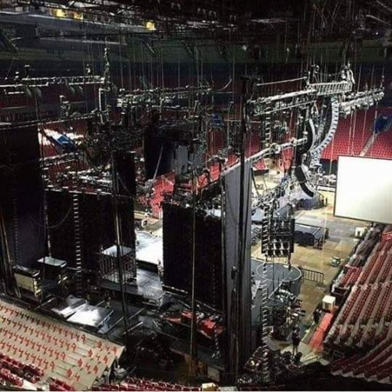 Rebel Heart Tour Stage