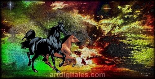 Les chevaux du soleil