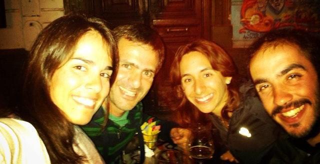 retrouvailles à Buenos Aires avec Luciana et German à San Telmo
