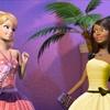 Nikki et Barbie en tenues de soirée