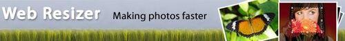 Redimensionner les photos en ligne